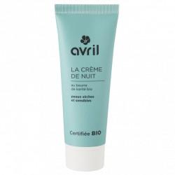 Crème de nuit Bio peaux sèches & sensibles 50 ml
