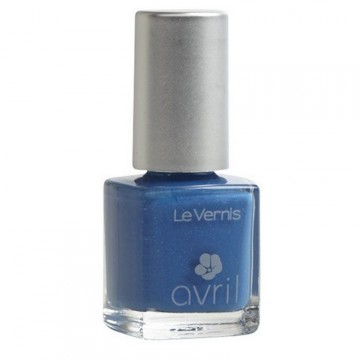 Vernis à Ongles Bleu Azur Pailleté