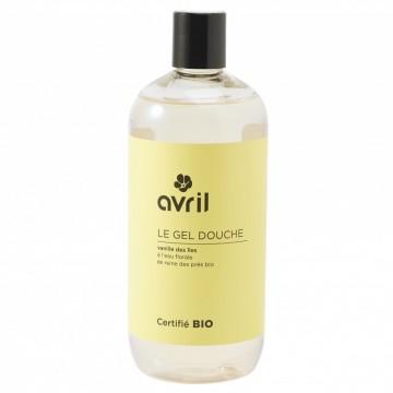 Gel Douche Bio Vanille des Îles 500 ml