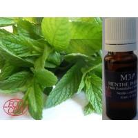 Huile Essentielle - Menthe Poivree 100 % Pure Certifiée Bio -10 Ml - ( Dluo 05/2021 )
