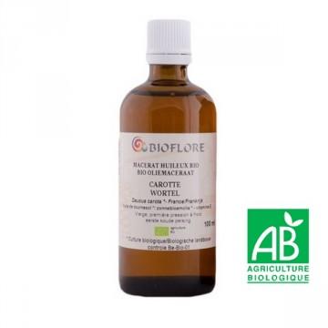 Huile Végétale de Carotte bio 1 ère Pression à Froid (Macerat) 100 ml