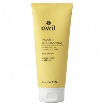 Après Shampoing Réparation Cheveux Secs et Abimés-200ml- Certifié Bio