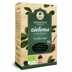 thé vert BIO avec yerba mate  25x2g (50g)