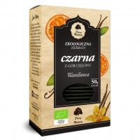 Thé noir Bio à la vanille 25x2g (50g)