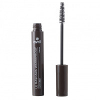 Mascara Waterproof Marron -Avril- Certifié Bio - 10ml