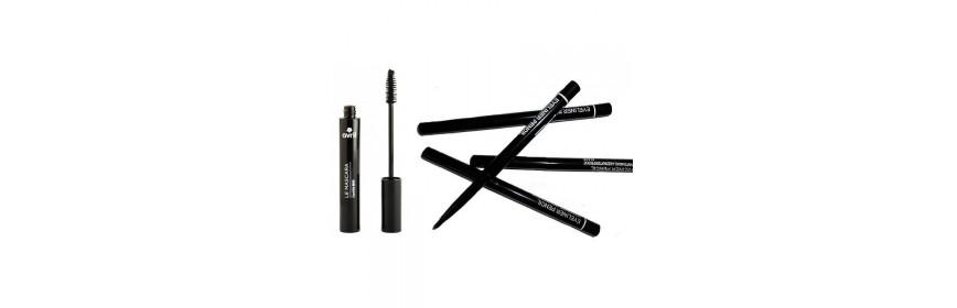 Mascara, crayon & eyeliner
